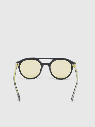 Diesel - DL0280, Black/Yellow - Sunglasses - Image 4