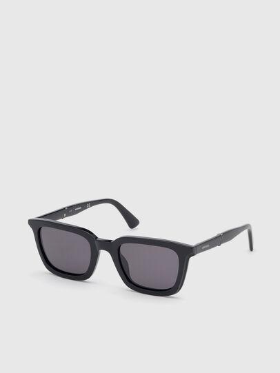 Diesel - DL0282, Black - Sunglasses - Image 2