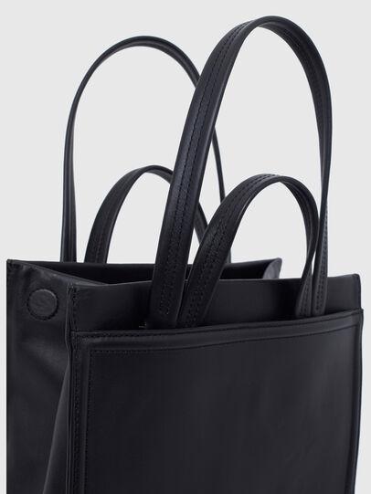 Diesel - AMETISTA, Black - Shopping and Shoulder Bags - Image 4