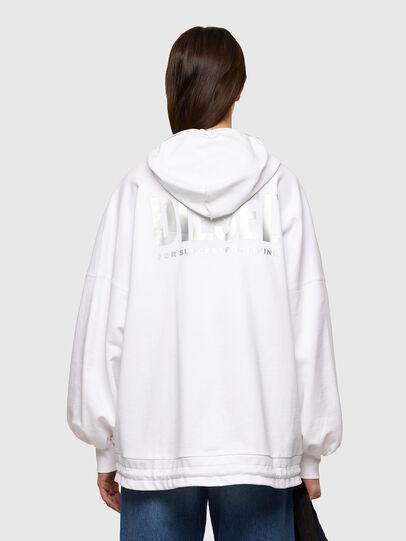 Diesel - F-BILLY-LOGO, White - Sweaters - Image 2