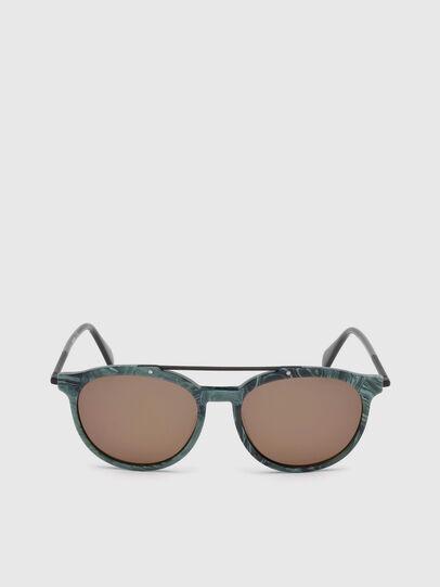 Diesel - DM0188, Green - Sunglasses - Image 1