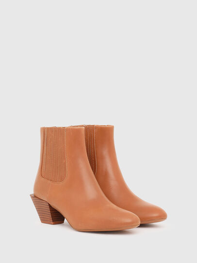 Diesel - D-TEXANNE CH, Light Brown - Ankle Boots - Image 2
