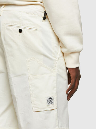 Diesel - P-HATY, White - Shorts - Image 3