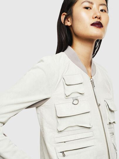 Diesel - L-CERITE,  - Leather jackets - Image 3