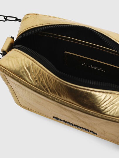 Diesel - ROSA' PCHAIN, Gold - Crossbody Bags - Image 4