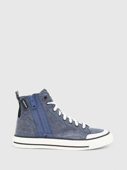 Diesel - S-ASTICO MID ZIP, Light Blue - Sneakers - Image 1