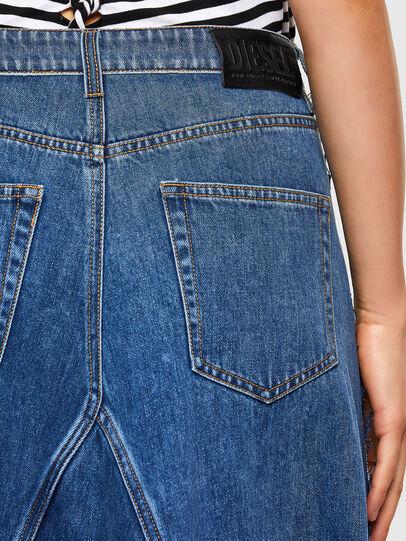 Diesel - O-LE, Grey/Blue - Skirts - Image 4