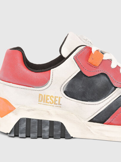 Diesel - S-RUA LOW SK, White/Red - Sneakers - Image 4