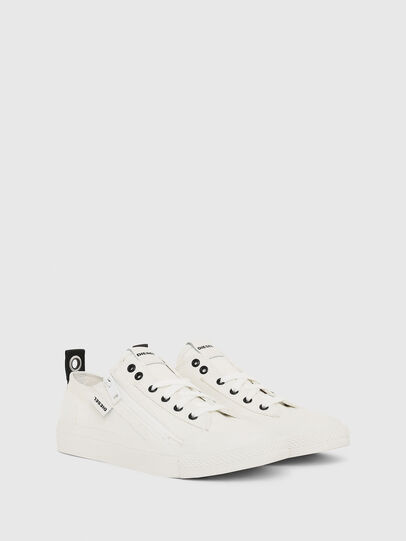 Diesel - S-ASTICO LOW ZIP W, White - Sneakers - Image 2