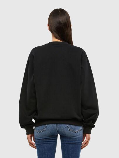 Diesel - F-ANG-K12, Black - Sweaters - Image 2