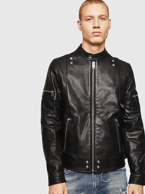 L-TOVMAS, Black - Leather jackets
