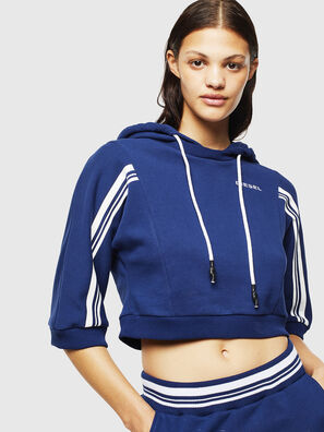 UFLT-VERTIX-CROP, Brilliant Blue - Sweaters