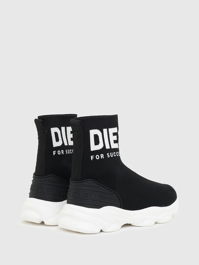 Diesel - S-SERENDIPITY SO MID, Black/White - Footwear - Image 3