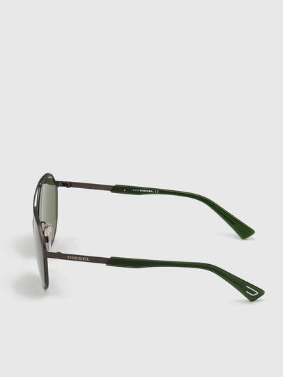 Diesel - DL0324, Black/Green - Sunglasses - Image 3