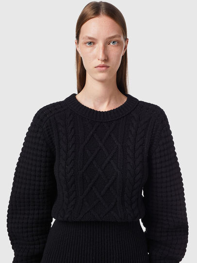Diesel - M-YSABELL, Black - Knitwear - Image 3