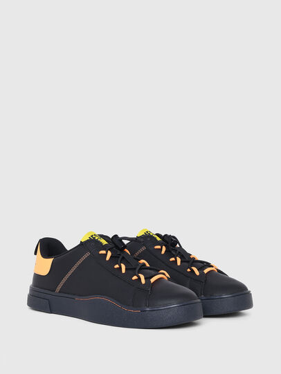 Diesel - S-CLEVER SO C, Black/Yellow - Sneakers - Image 2