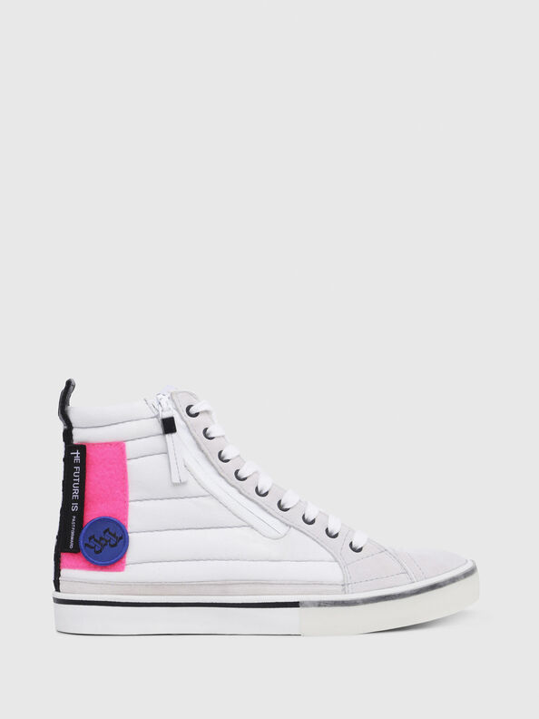 D-VELOWS MID PATCH W, White - Sneakers