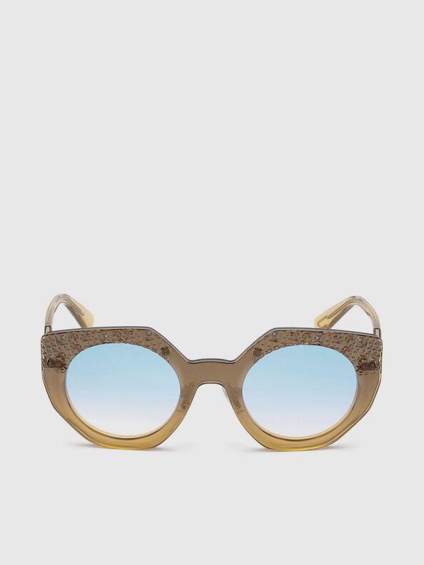 DL0258, Honey - Sunglasses