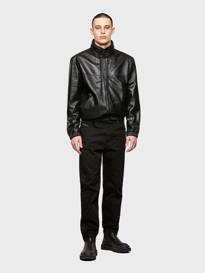 Diesel - L-NAME, Black - Leather jackets - Image 4