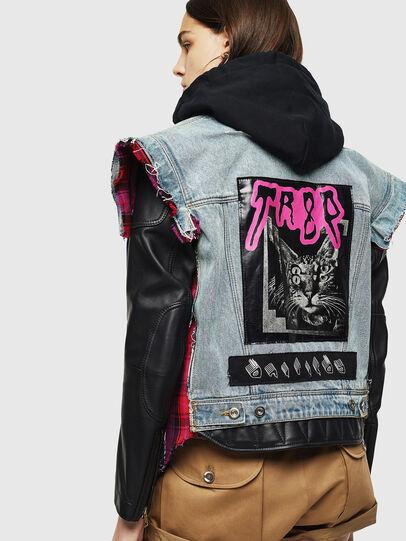 Diesel - L-MARALI,  - Leather jackets - Image 2