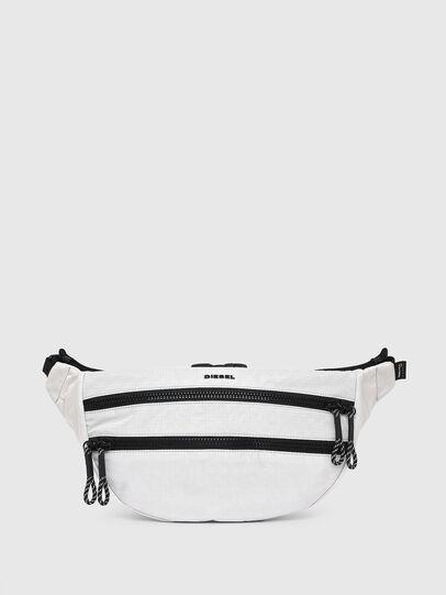 Diesel - F-URBHANITY BUMBAG, Silver - Belt bags - Image 1