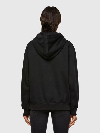 Diesel - F-ANG-HOOD-K23, Black - Sweaters - Image 2