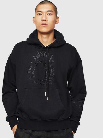 Diesel - S-ALBY-B5, Black - Sweaters - Image 1