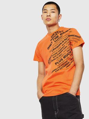 T-DIEGO-S3, Orange - T-Shirts