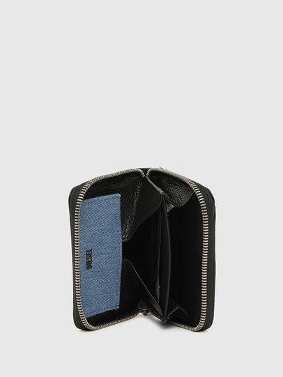 Diesel - CRASSU, Black/Blue - Zip-Round Wallets - Image 3