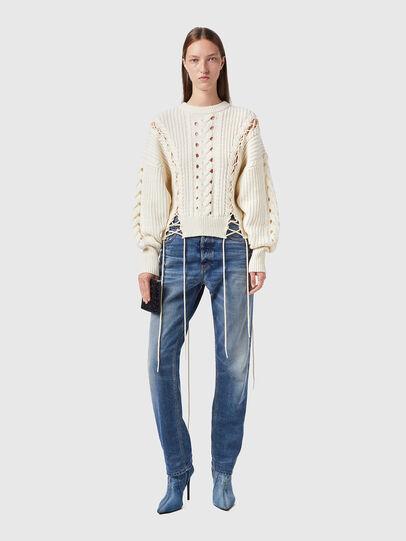 Diesel - M-NEBRASKA, White - Knitwear - Image 5