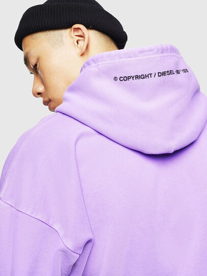 Diesel - S-ALBY-FLUO, Lilac - Sweaters - Image 7