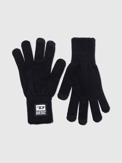Diesel - K-JACK, Black - Gloves - Image 1