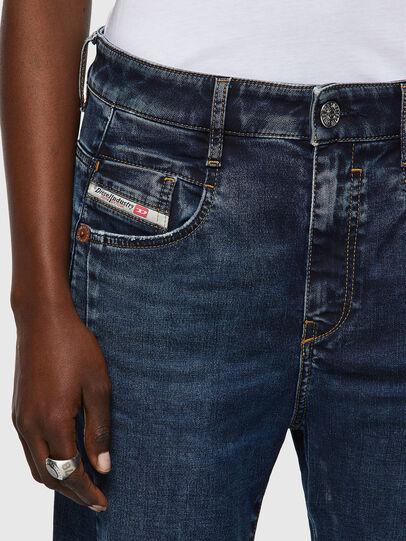 Diesel - Fayza JoggJeans® 069WZ, Dark Blue - Jeans - Image 4
