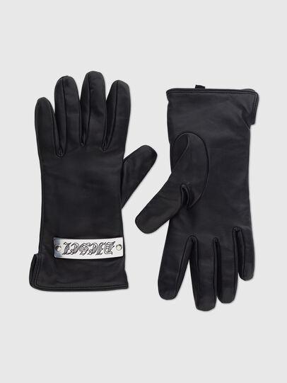 Diesel - G-PLACKI, Black - Gloves - Image 1