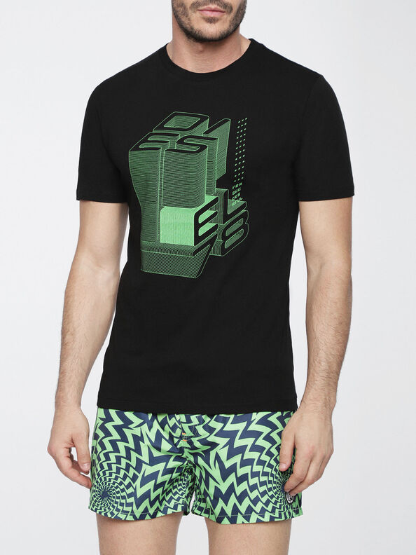 BMOWT-PARSEN-S, Black/Green - Out of water