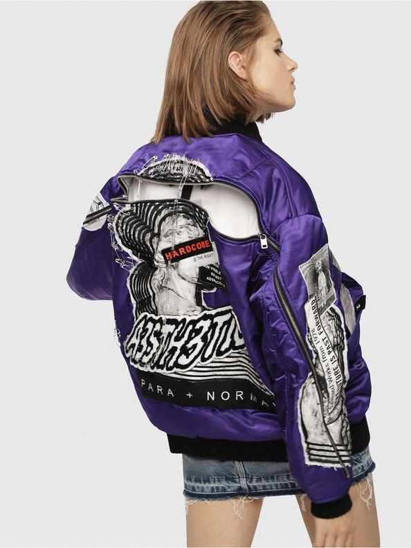 G-KRISTA-C, Violet - Jackets
