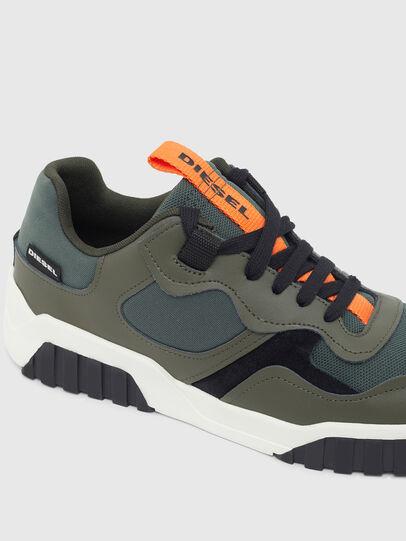 Diesel - S-RUA LOW SK, Olive Green - Sneakers - Image 4