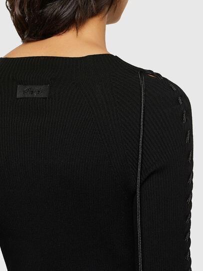 Diesel - M-JILL, Black - Dresses - Image 4