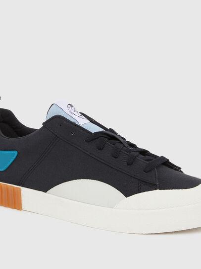 Diesel - S-BULLY LC, Black/Blue - Sneakers - Image 4