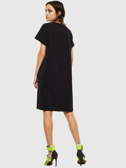 Diesel - D-STRIPE, Black - Dresses - Image 2