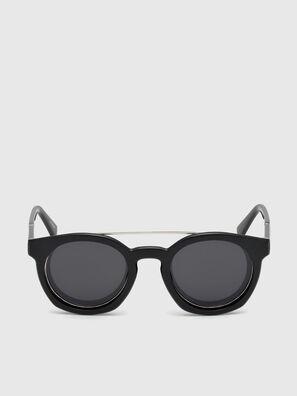 DL0251, Bright Black - Sunglasses