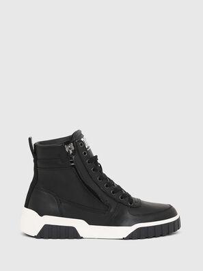 S-RUA MID W, Black - Sneakers