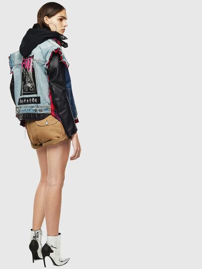 Diesel - L-MARALI,  - Leather jackets - Image 4
