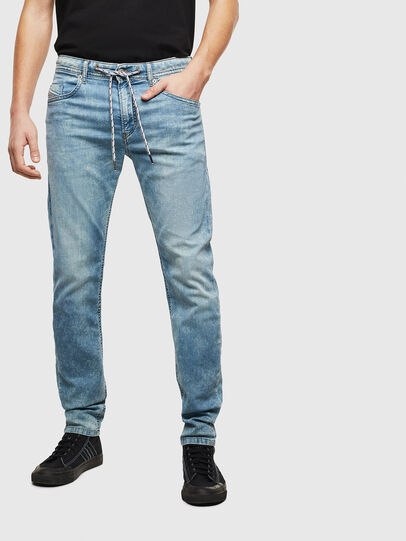 Diesel - Thommer JoggJeans 069LK, Light Blue - Jeans - Image 1