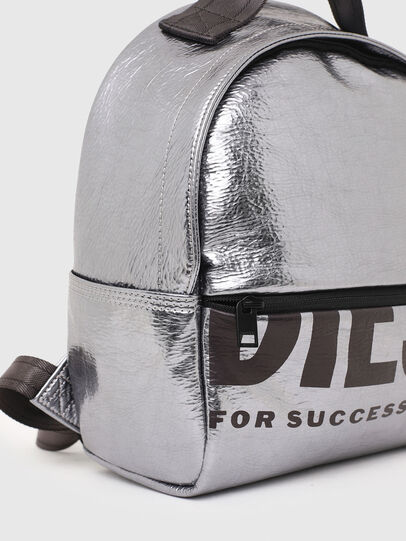 Diesel - F-BOLD BACK FL II, Silver - Backpacks - Image 6
