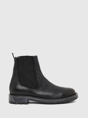 D-THROUPER CH W, Black - Ankle Boots
