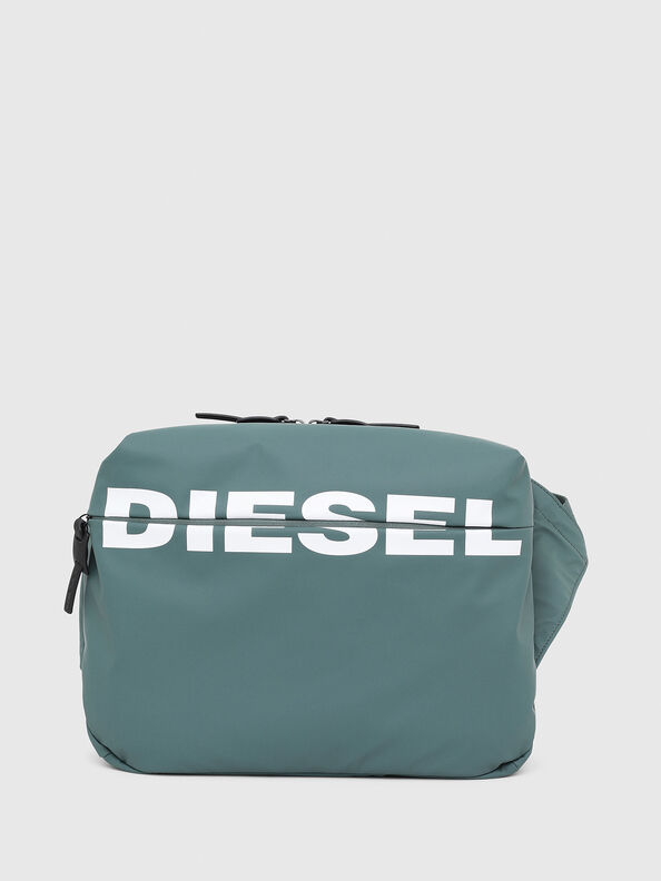 F-BOLD CROSS, Green/Grey - Crossbody Bags