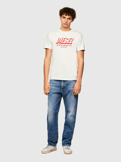 Diesel - T-DIEGOS-A5, White - T-Shirts - Image 4