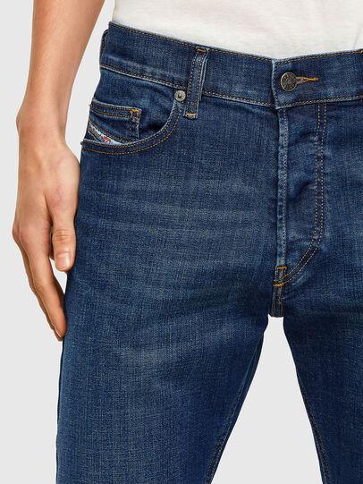 Diesel - D-Luster 009NN, Dark Blue - Jeans - Image 4
