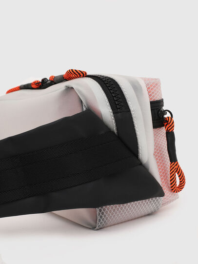 Diesel - FAROH, White/Orange - Crossbody Bags - Image 7